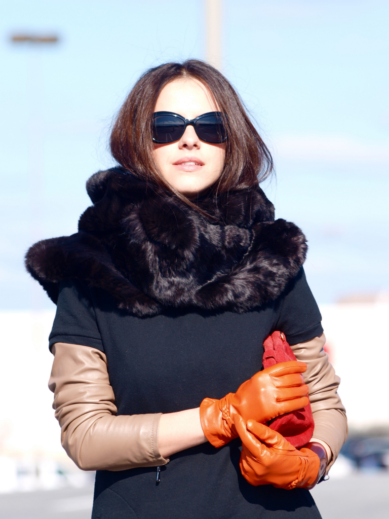 bittersweet colours, Calvin Klein Collection, CHANEL, orange, Ralph Lauren, street style,