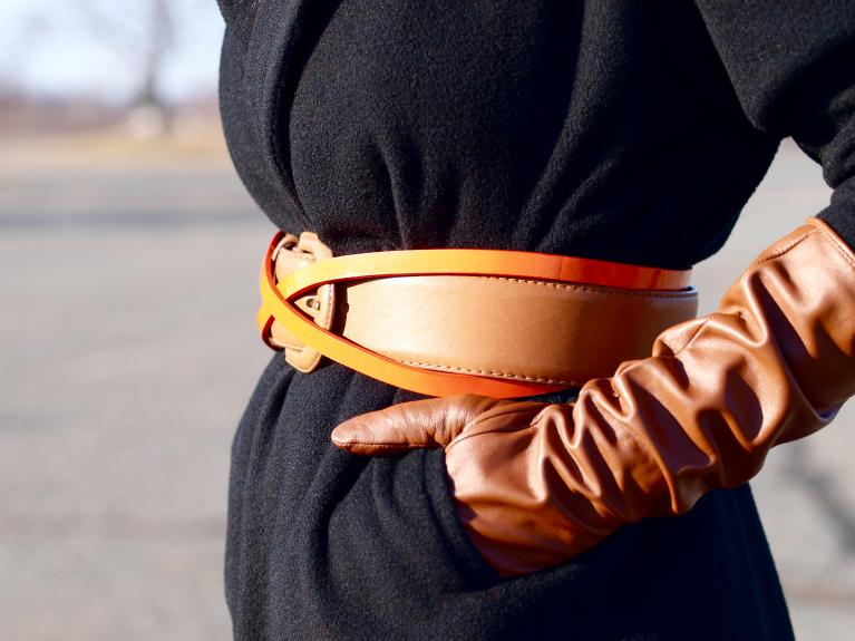 2 belts in one, bittersweet colours, Calvin Klein Collection, Michael Kors,  vintage, Zara