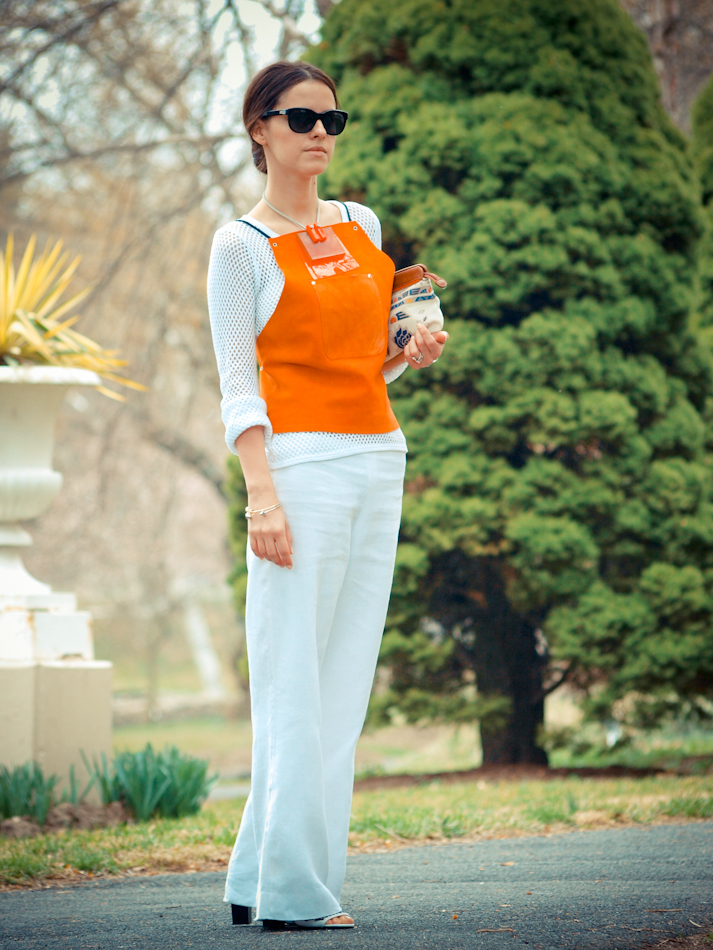 street style, bittersweet colours, COLLABORATIONS, COLORS, DIY, French Connection, Marc by Marc Jacobs, orange, outfit post, Poshlocket, Ralph Lauren, Spring trends