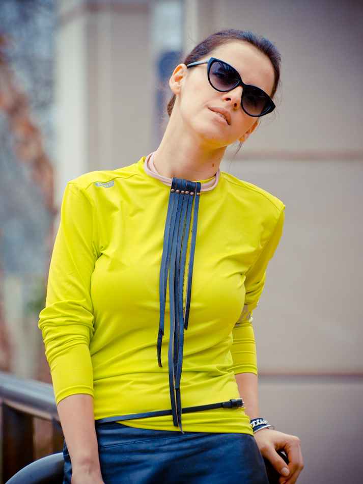 American Apparel, bittersweet colours, DIY necklaces, leather skirts, sporty-chic, street style
