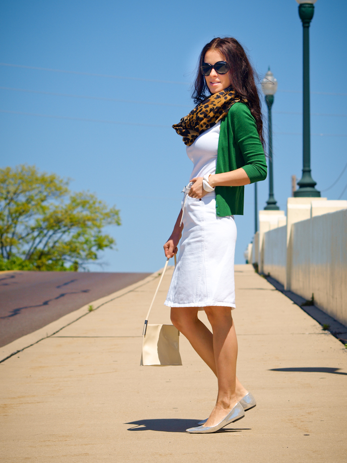 street style, bittersweet colours, bittersweet colours, COLORS, Furla, Gap, Jewelry, leopard print, Mango, outfit post, Ralph Lauren, skirts, Spring trends, white on white