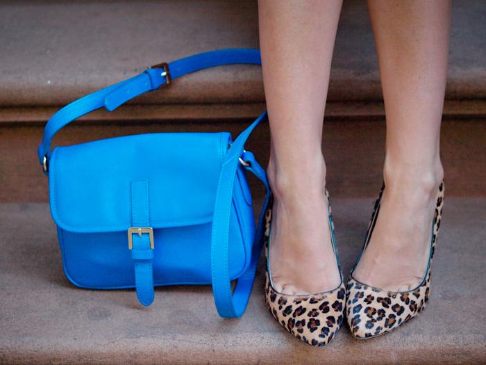 bittersweet colours, street style, nyfw, , nyfw street style, prints, leopard print pumps,  pink shorts,