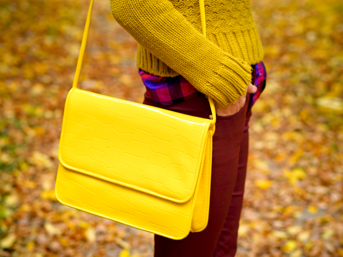 bittersweet colours, sweater weather, fall colors, street style, zara, vintage baf, burgundy pants,