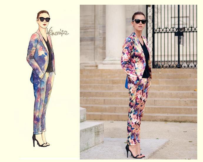 bittersweet colours, illustration, fashion