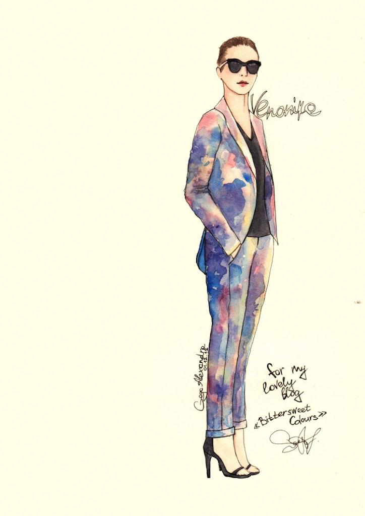 bittersweet colours, illustration