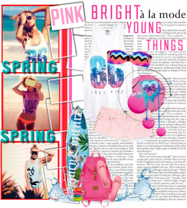 PINK Spring Break Style Off