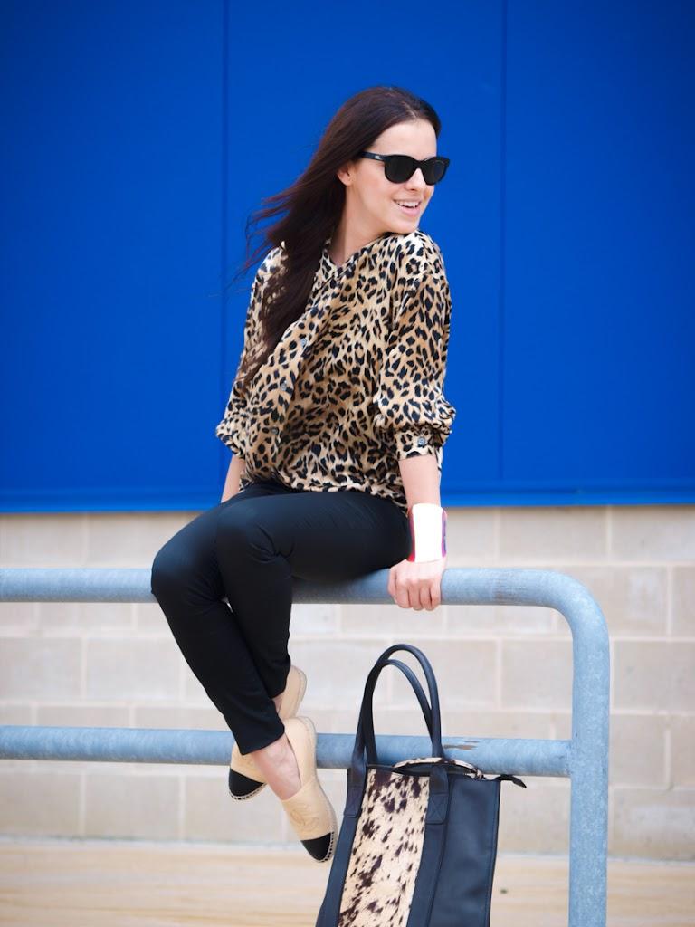 chanel espadrilles 2013, chanel, shoes chanel flats, street style, allSaints, leopard print