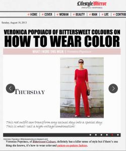 Veronica Popoiacu, Interview , Lifestyle Mirror, fashion, streetstyle ,