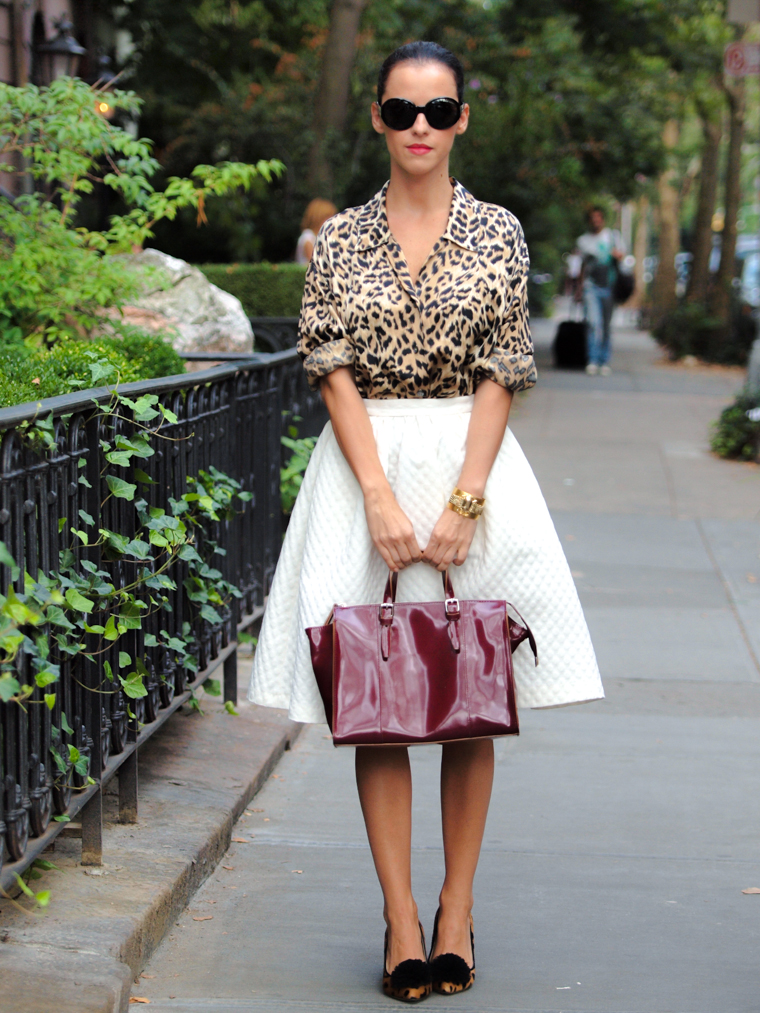 bittersweet colours, Lincoln Center NYFW, NYFW, street style, Charlotte Olympia, leopard print, Burgundy, Herve Leger SS 2014, Cynthia Rowley SS 2014, Charlotte Ronson SS 2014, Rebecca Taylor SS 2014,