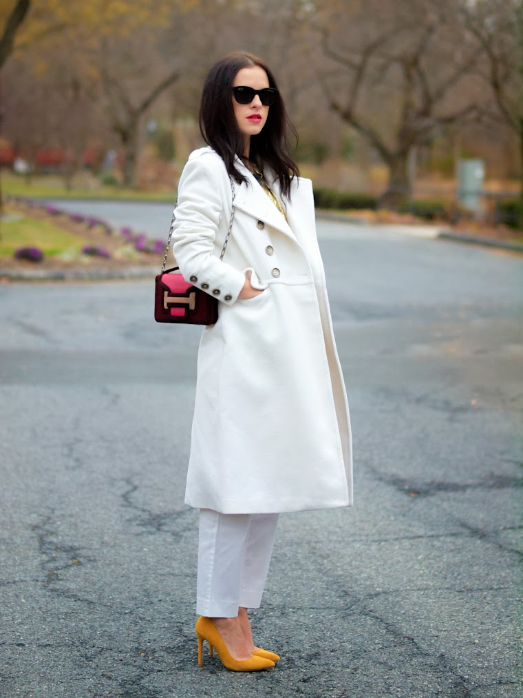 bittersweet colours, cooee, J.Crew, pierre hardy, Shoemint, Stella McCartney, street style, tart collection, white on white, winter trends,gold trends, Harrods,