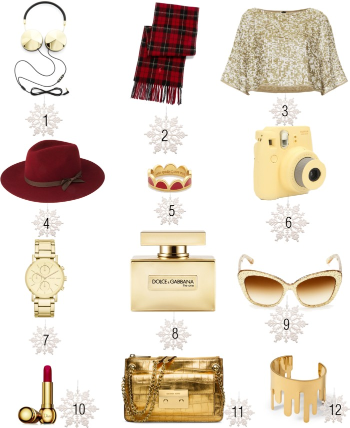 holyday gift ideas, winter , gifts, gold gifts