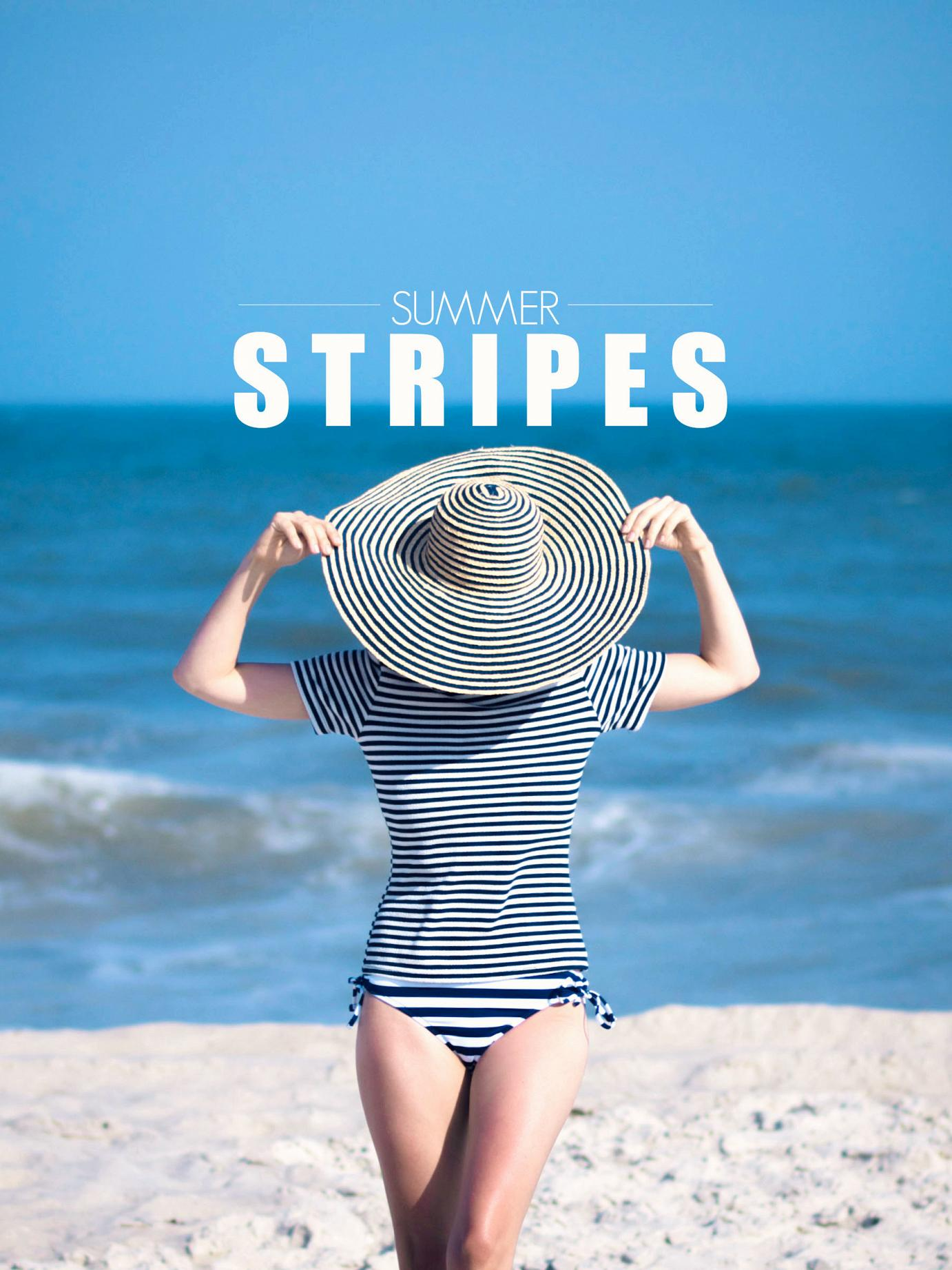 summer stripes, bittersweet colours