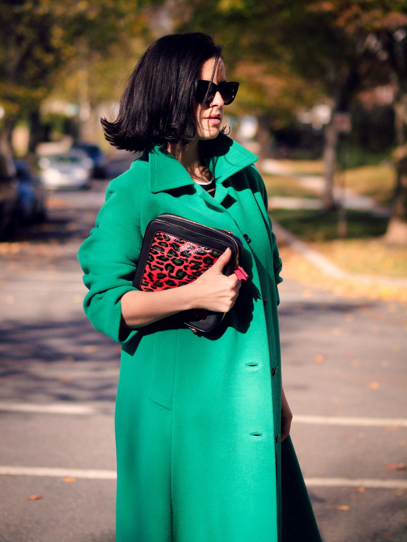 bittersweet colours, street style, fall coats, fall colors, fall trends, fall street style, Manolo Blahnik shoes, meredith wendell, stripes, boyfriend jeans, eye cat sunglasses, maternity style, bump style, 21 weeks,