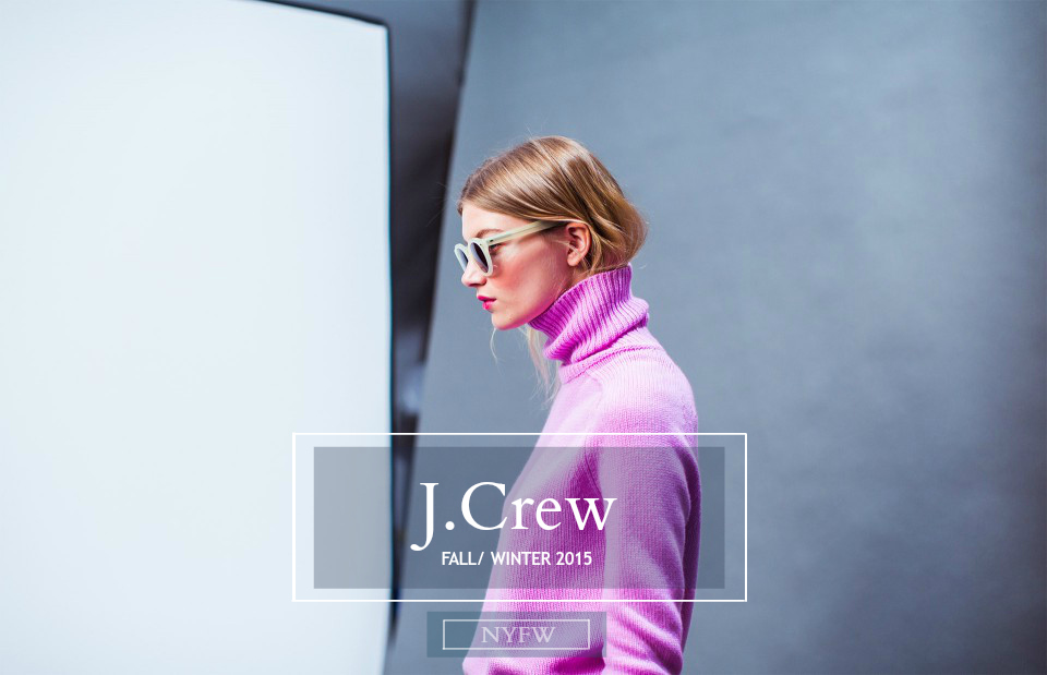 J.Crew Fall/ Winter 2015